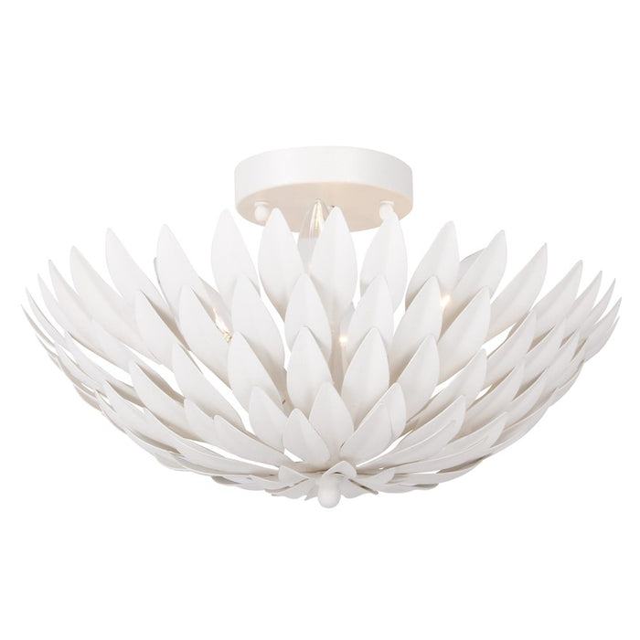 Crystorama Broche 4 Light Ceiling Mount