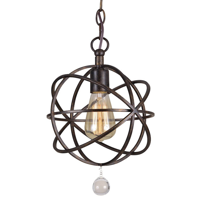 Crystorama Solaris 1 Light Pendant