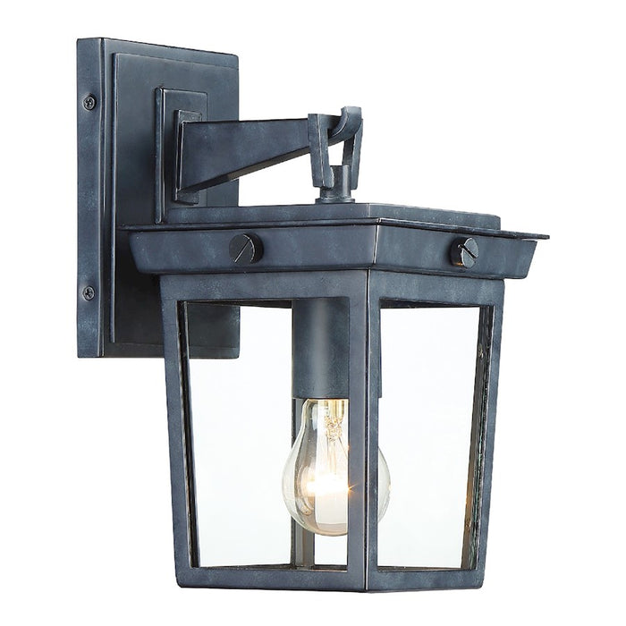 Crystorama Belmont 1 Light Outdoor Wall Mount, Graphite - BEL-A8061-GE