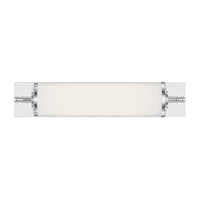 "Crystorama Foster 24"" 1 Light Wall Mount, Chrome - FOS-A8051-CH"
