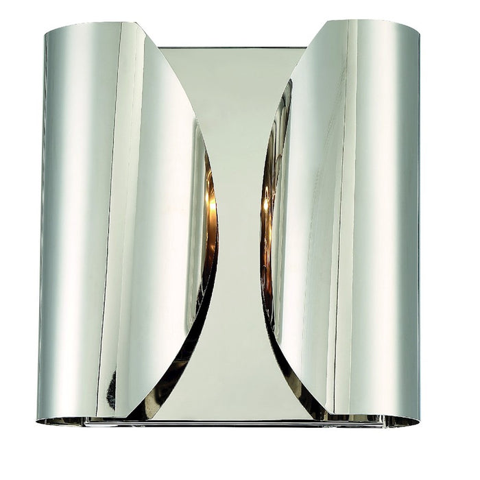 Crystorama Monique 2 Light Wall Mount, Polished Nickel - MOQ-A3692-PN
