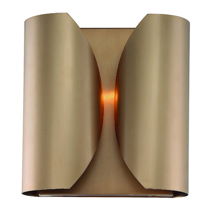 Crystorama Monique 2 Light Wall Mount, Vibrant Gold - MOQ-A3692-VG