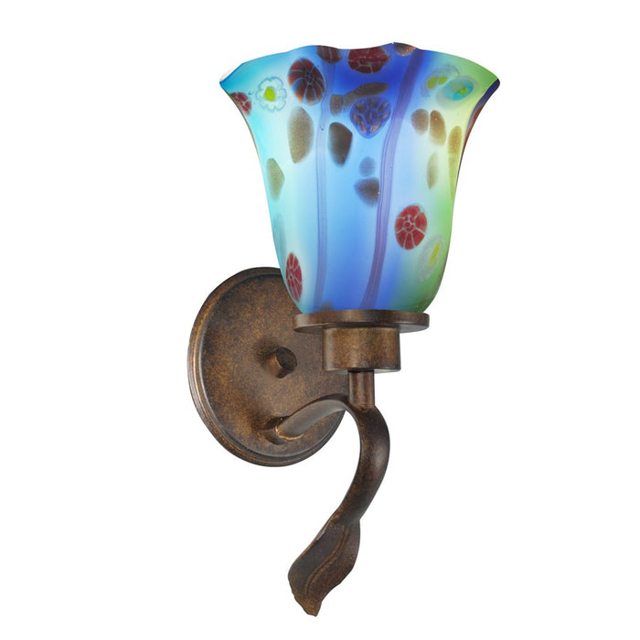 Dale Tiffany Morgan Wall Sconce, Rustic Bronze