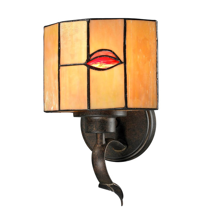 Dale Tiffany Fantom Leaf Wall Sconce
