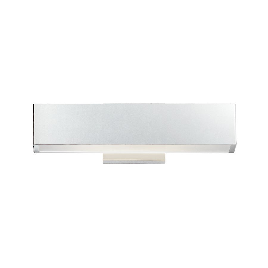 Eurofase Anello Small LED Wall Sconce, Chrome/Frosted - 32121-018