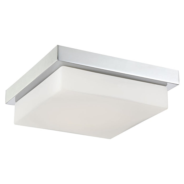 Eurofase Barlow 1-Light Large LED Flushmount, Chrome/White - 32673-012