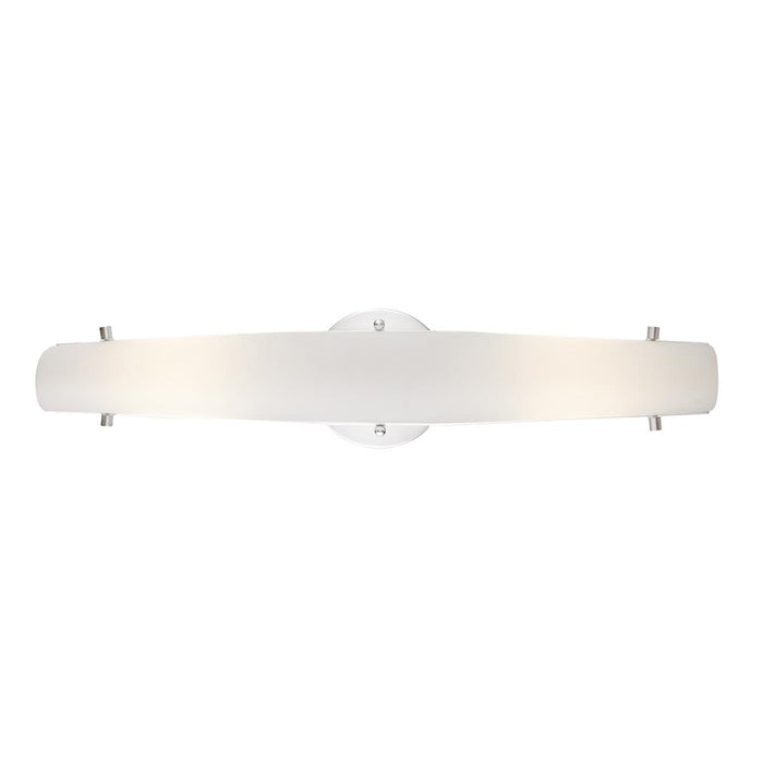 Eurofase Absolve 1-Light LED Wall Sconce, Satin Nickel/Opal White - 33228-020