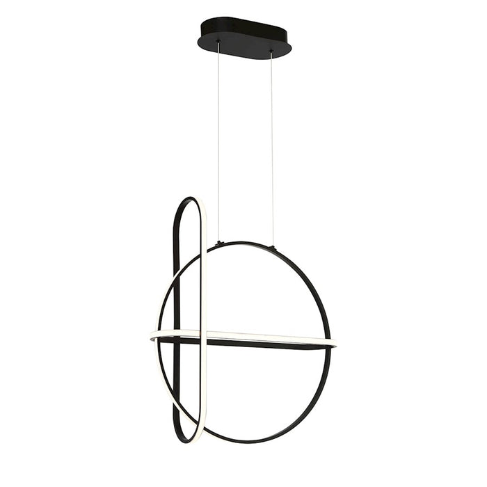 Eurofase Berkley LED Chandelier, Matte Black - 37035-013