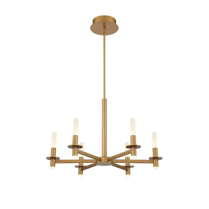 Eurofase 6LT LED Chandelier, Coffee Gold/Frosted Acrylic - 38440-014
