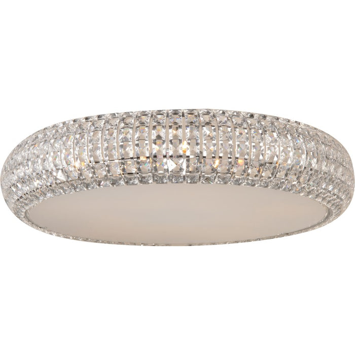 ET2 Lighting Bijou Flush Mount, Polished Chrome