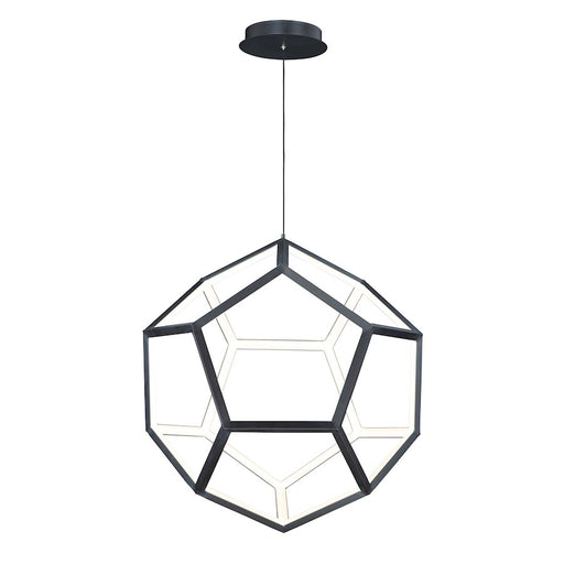 ET2 Lighting Penta LED 1-Light Pendant, Black