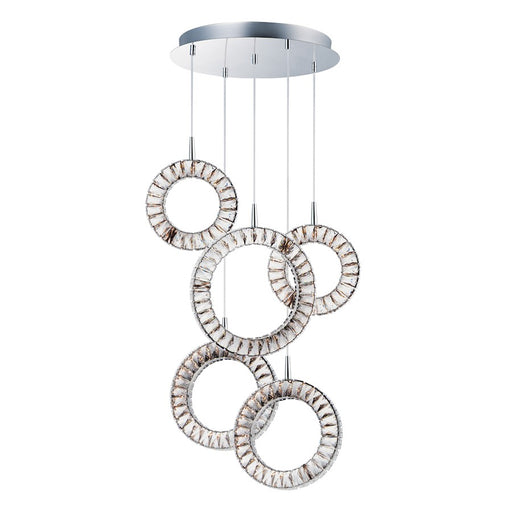 ET2 Lighting Charm LED Pendant, Polished Chrome