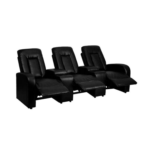 Flash Furniture Triple Recliner