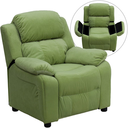 Flash Furniture Kids Ultimate Recliner, Micro Fiber