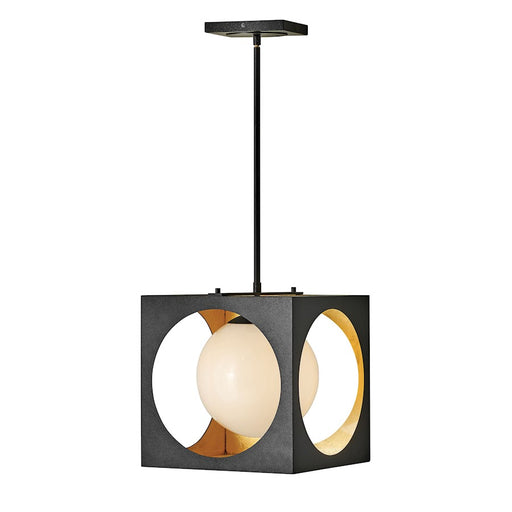 Fredrick Ramond Vega 1 Light Pendant, Anvil Black