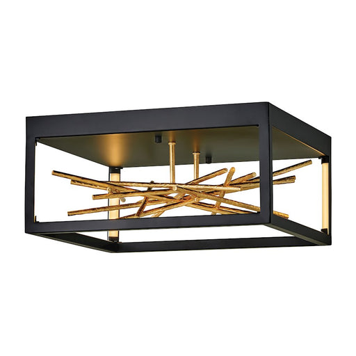 Fredrick Ramond Styx Flush Mount, Black