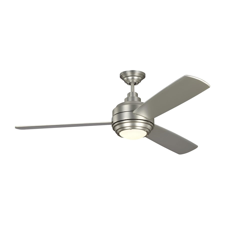 "Monte Carlo 56"" Aerotour Ceiling Fan, Satin Nickel"