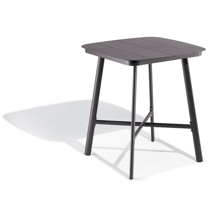 "Oxford Garden Eiland 36"" Square Bar Table, Carbon - ED36BRC"