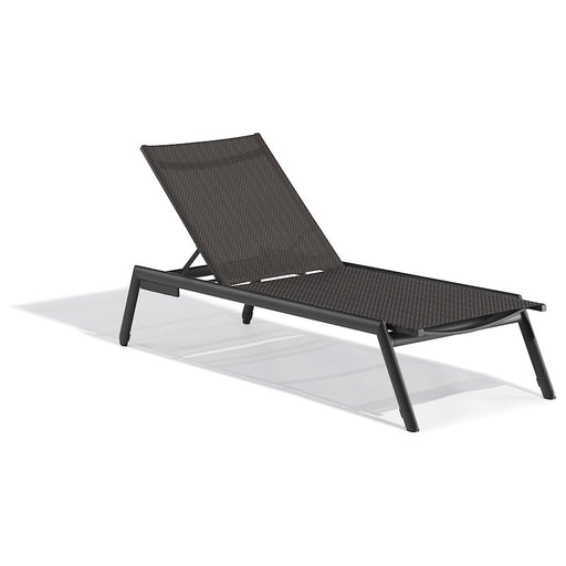 Oxford Garden Eiland Armless Chaise Lounge, Carbon/Ninja, Set of 4 - EDALT1064