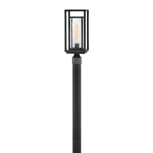 Hinkley Lighting Republic 1 Light Outdoor Post Mount, Black - 1001BK