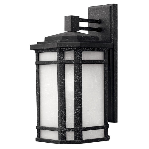 Hinkley Lighting Cherry Creek 1 Light Outdoor Wall Mount, Vintage Black