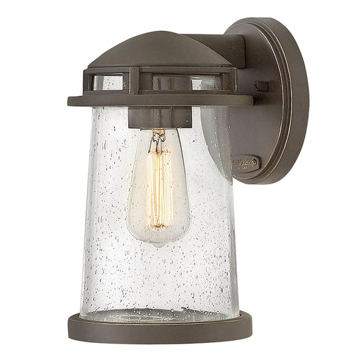 Hinkley Lighting 1 Light Tatum Outdoor Wall Mount, Oil Rubbed Bronze
