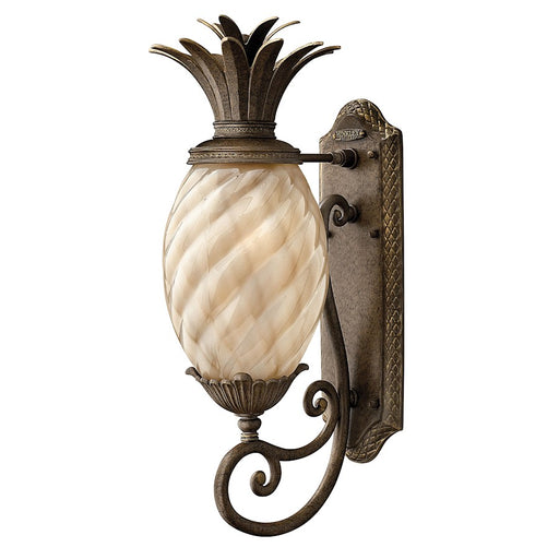 Hinkley Lighting Outdoor Plantation Wall, Pearl Bronze