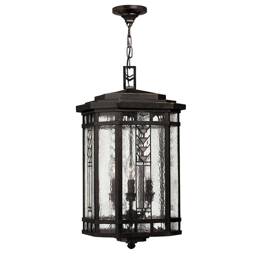 Hinkley Lighting Tahoe 4 Light Outdoor Hanging, Regency Bronze
