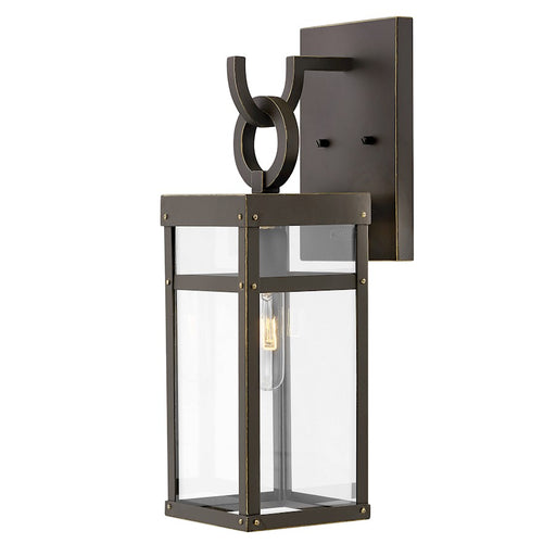 Hinkley Lighting Porter 1 Light Wall Mount, Oil Rubbed Bronze