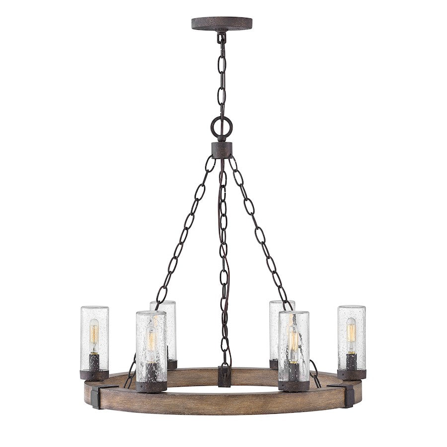 Hinkley Sawyer Outdoor  Chandelier, Sequoia