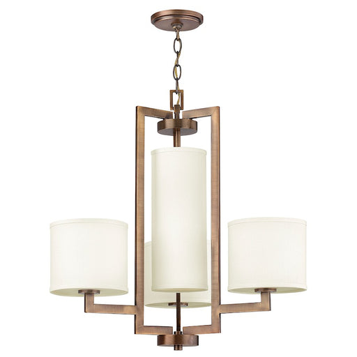 Hinkley Lighting Hampton 4 Light Chandelier 1 Tier