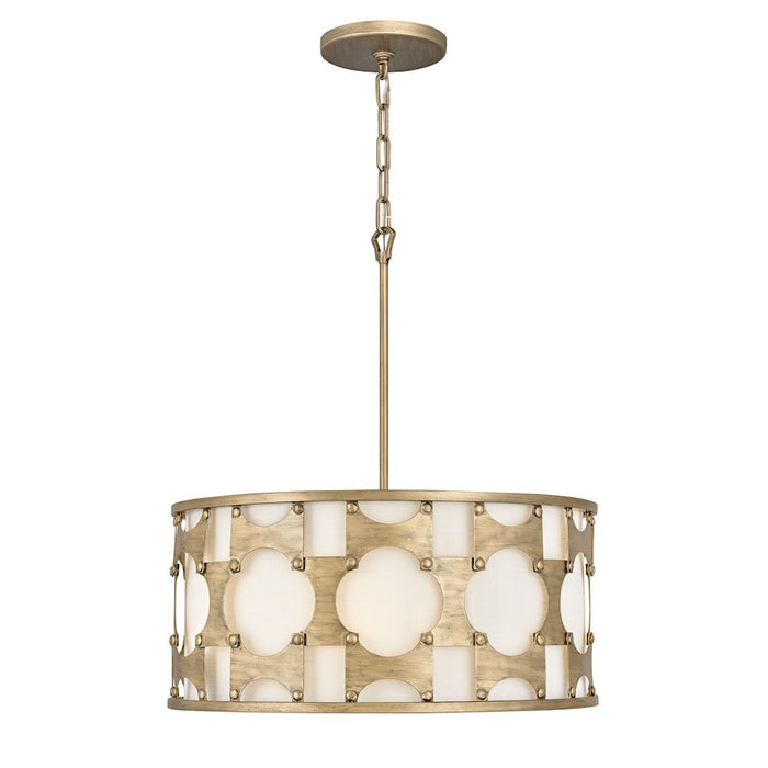 Hinkley Lighting Carter Chandelier, Burnished Gold