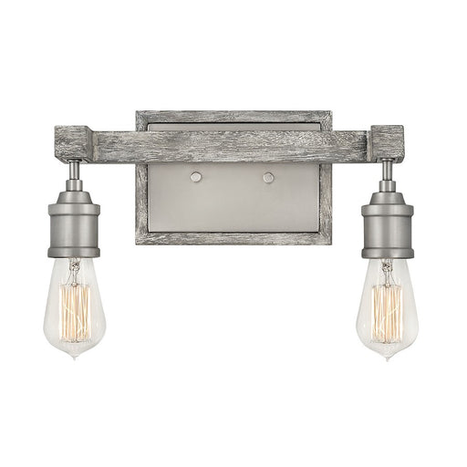 Hinkley Lighting Denton Bath Vanity, Pewter