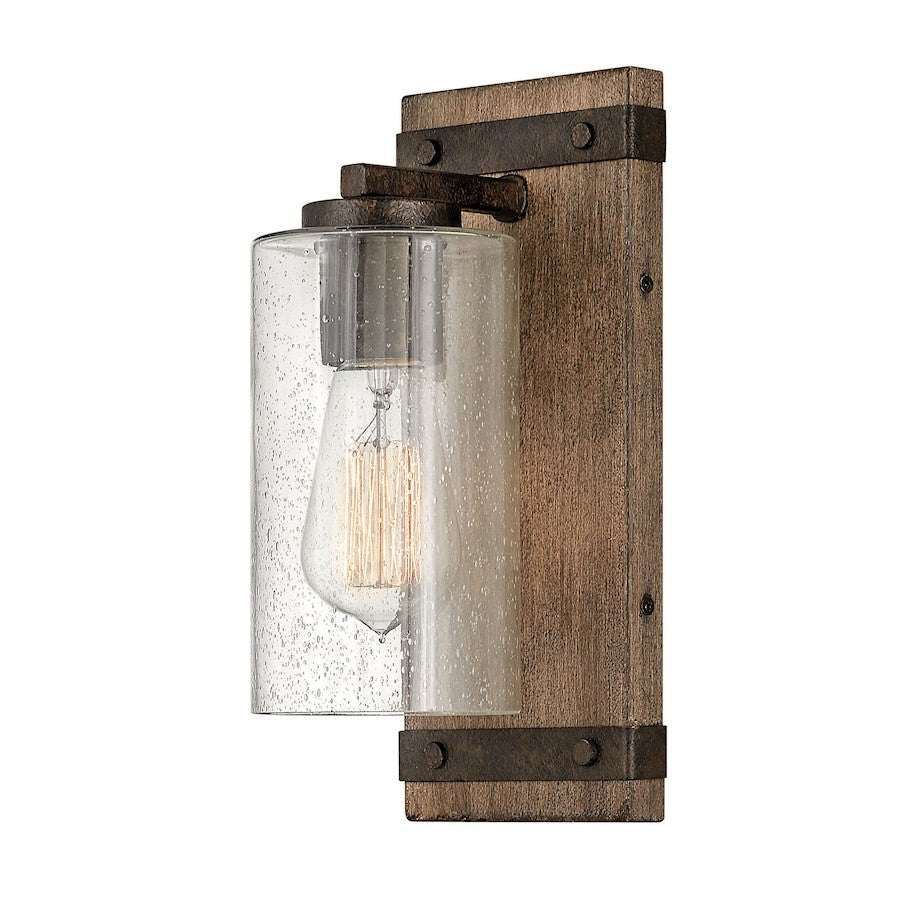 Hinkley Lighting 1 Light Sawyer Wall Sconce, Sequoia