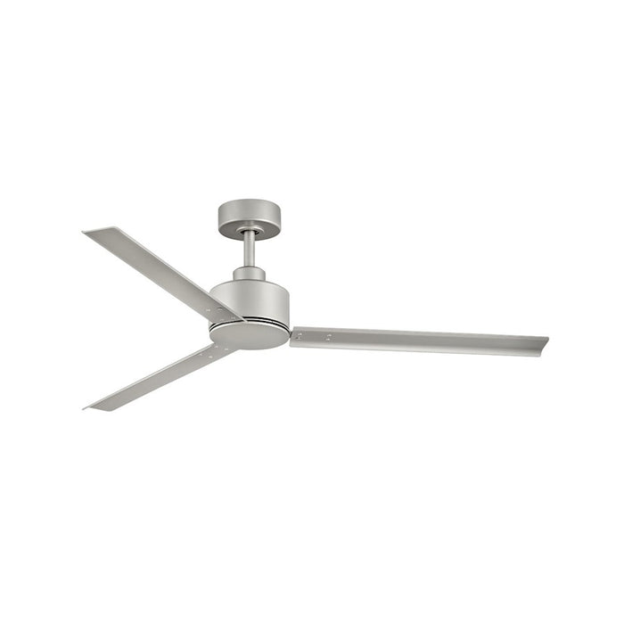 "Hinkley Lighting Indy 56"" Fan, Brushed Nickel, Wall Control - 900956FBN-NWA"