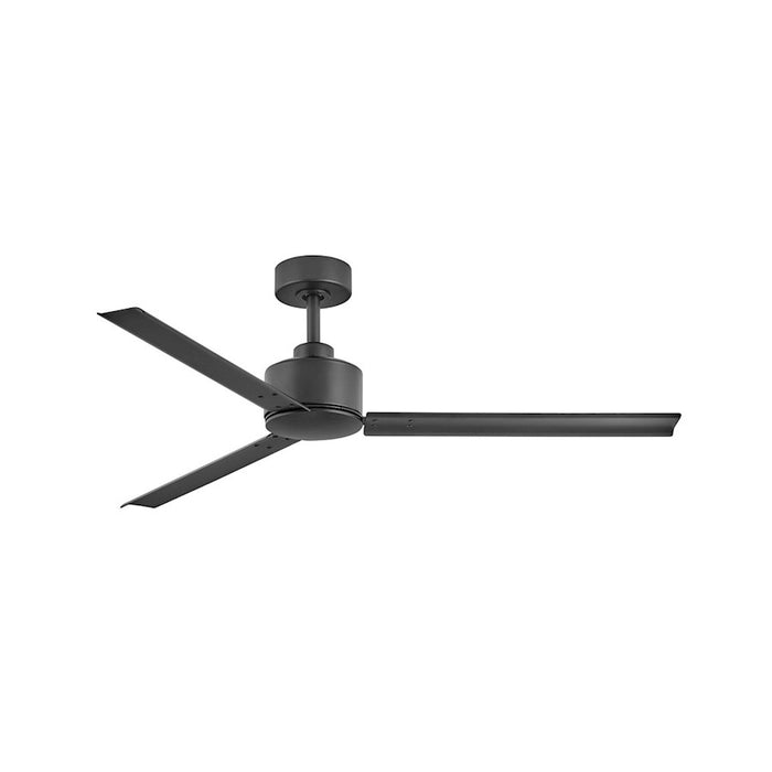 "Hinkley Lighting Indy 56"" Fan, Matte Black With Wall Control - 900956FMB-NWA"