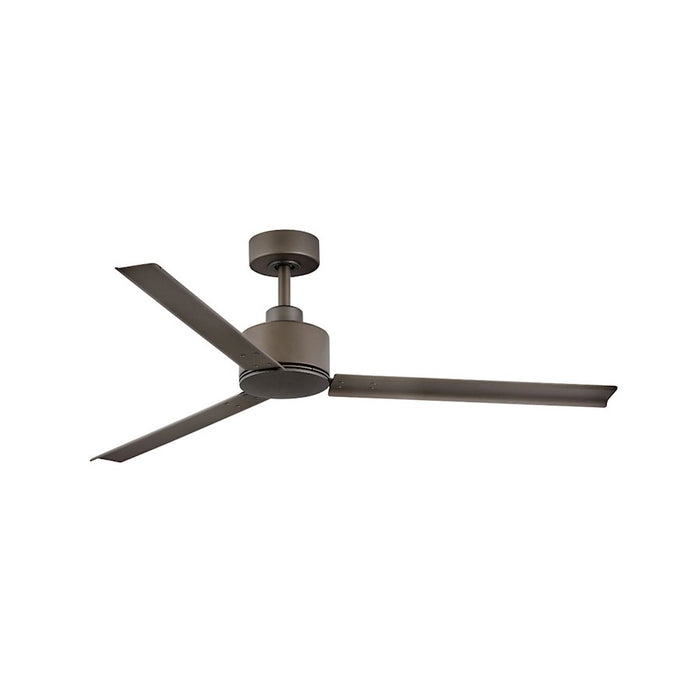 "Hinkley Lighting Indy 56"" Fan, Metallic Bronze, Wall Control - 900956FMM-NWA"