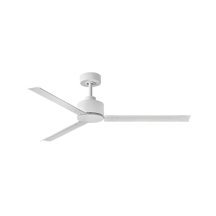 "Hinkley Lighting Indy 56"" Fan, Matte White With Wall Control - 900956FMW-NWA"