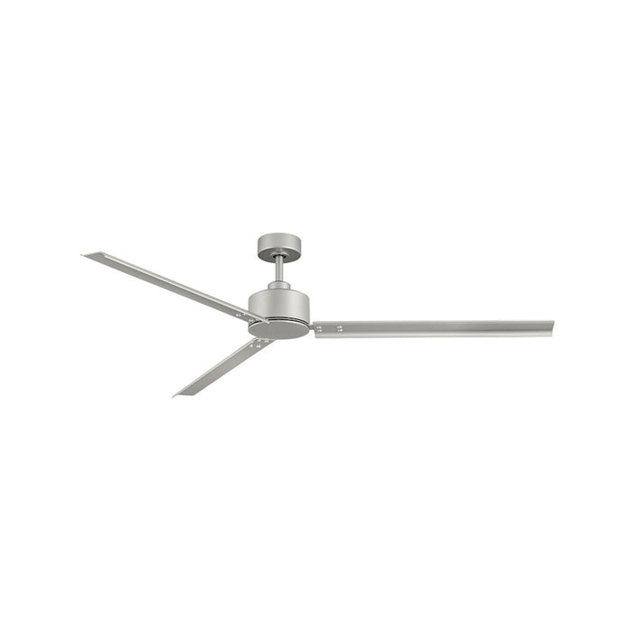 "Hinkley Lighting Indy 72"" Fan, Brushed Nickel, Wall Control - 900972FBN-NWA"