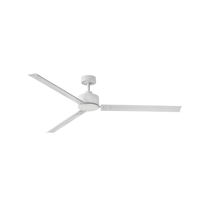 "Hinkley Lighting Indy 72"" Fan, Matte White With Wall Control - 900972FMW-NWA"