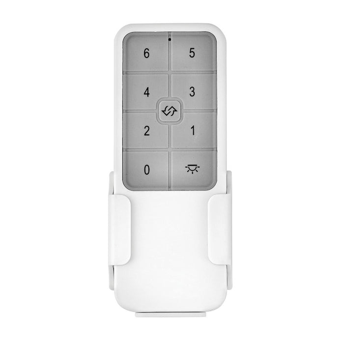 Hinkley Lighting Remote Control 6 Speed Dc, White - 980003FWH