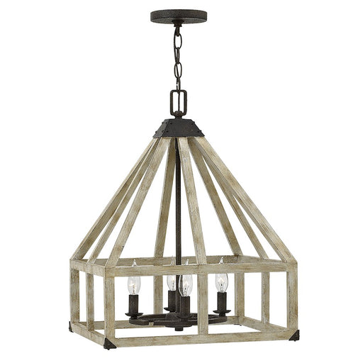 Fredrick Ramond Emilie 4 Light Chandelier 1 Tier, Iron Rust