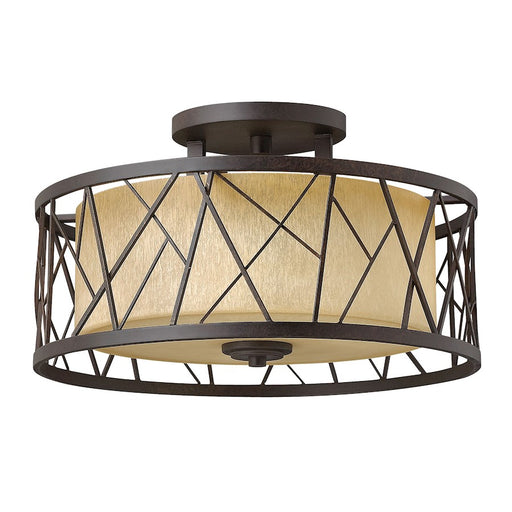 Fredrick Ramond Nest 3 Light Foyer Semi-Flush Mount