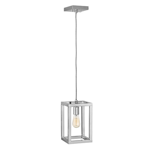 Fredrick Ramond 1 Light Ensemble Pendant, Polished Nickel