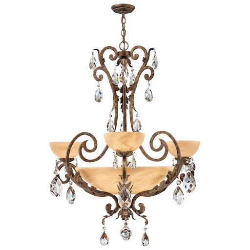 Fredrick Ramond Barcelona Chandelier Foyer