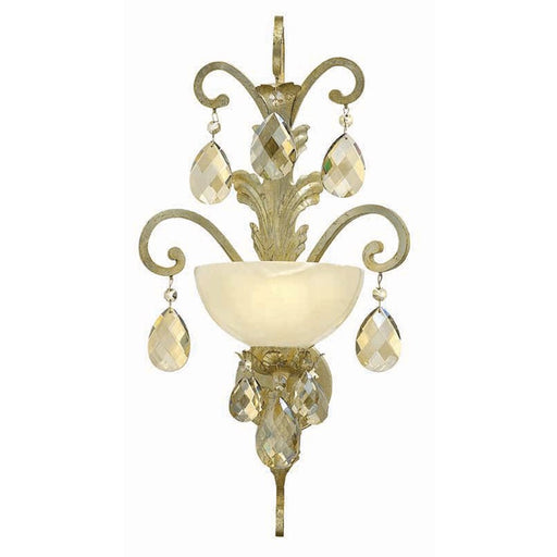Fredrick Ramond Barcelona 1 Light Sconce, Silver Leaf