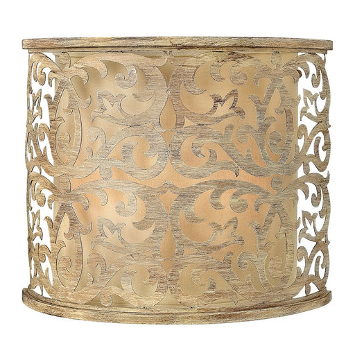 Fredrick Ramond Carabel 2 Light Sconce, Brushed Champagne