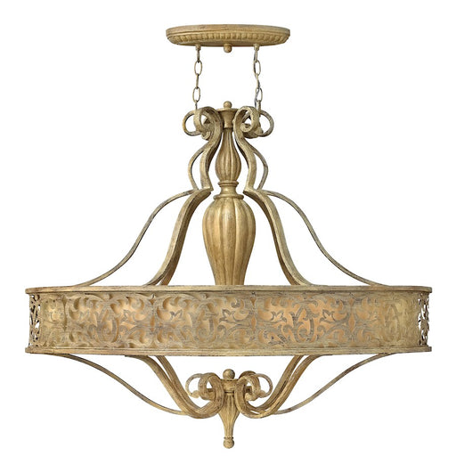 Fredrick Ramond Carabel 6 Light Chandelier Foyer, Champagne