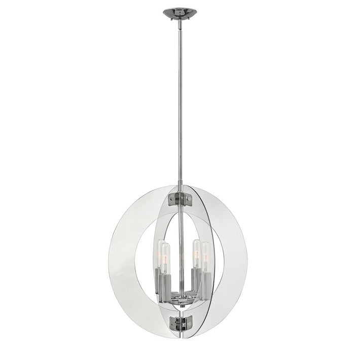 Fredrick Ramond Solstice 4 Light Chandelier Pendant