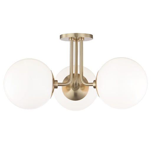 Mitzi by Hudson Valley Stella 3 Light Semi Flush